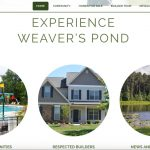 Weaver's Pond Launches New Website